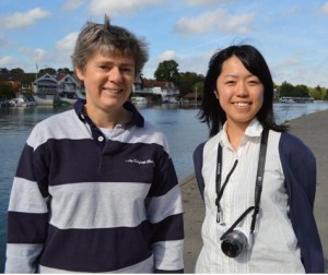 Yumiko Yamamoto (on the right) with Kate Ashbrook of Open Spaces Society