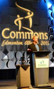 Rob Huebert Presenting at the IASC 2015 Commons conference in Edmonton, Friday 29th May