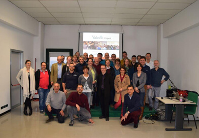 Valerie team at Cadir Lab near Alessandria 392x272