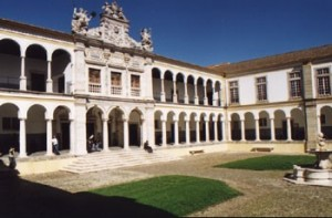 main courtyard University of Evora