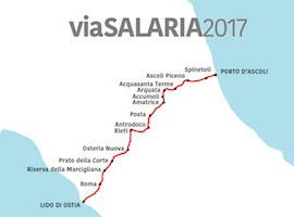 ViaSalaria : Help to support a 180 mile study walk across Italy