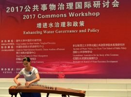 John Powell raising awareness of importance of water governance and policy in China