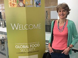Addressing the challenges of global food security