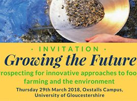 Growing the Future – Prospecting for innovative approaches to food