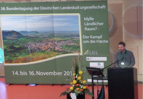 Listen to Dan Keech's presentation at the annual meeting of the German Cultural Landscapes Association
