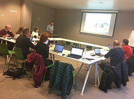 Jane Mills attends SoilCare project meeting in Brussels
