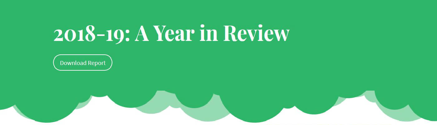 Read the review for 2018-19 on our Microsite!