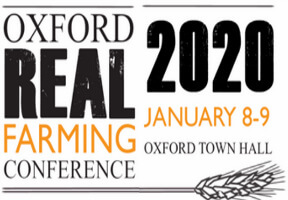 Chris Short presenting at Oxford Real Farming Conference