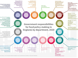 16 government departments making food policy in England: the case for coordination during Covid-19 and beyond