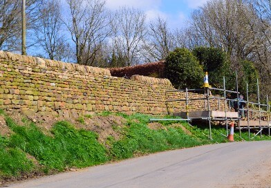 Developing an ecosystems approach: Dry stone walls